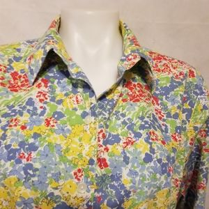 WESTBOUND,floral, button down shirt floral 18